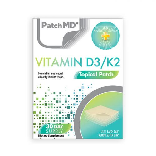 D3/K2 Topical Patch