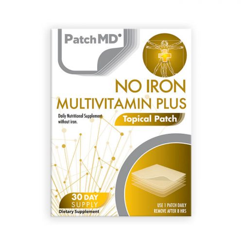 No Iron Multi Plus Topical Patch